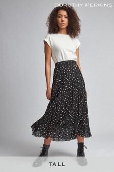 Dorothy Perkins Tall Spot Print Smock Dress