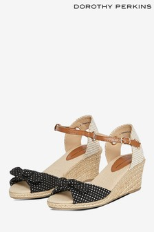 Dorothy Perkins Crossover Espadrille Sandals