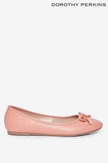 Dorothy Perkins Bow Trim Ballerina Pump