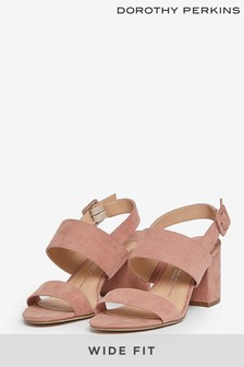 Dorothy Perkins Wide Fit Two Strap Mule