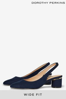Dorothy Perkins Wide Fit Slingback Court Shoes