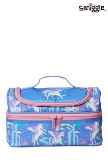 Smiggle Far Away Double Decker Lunchbox