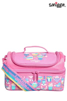 Smiggle Whirl Junior Double Decker Lunchbox