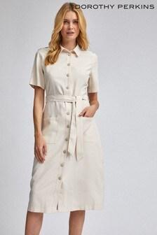 Dorothy Perkins Twill Shirt Dress