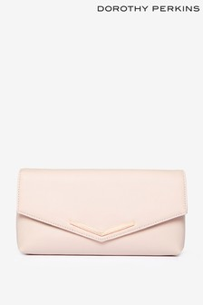 Dorothy Perkins Metal Bar Clutch