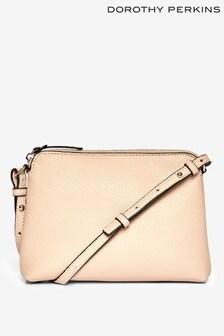 Dorothy Perkins Zip-Top Crossbody Bag