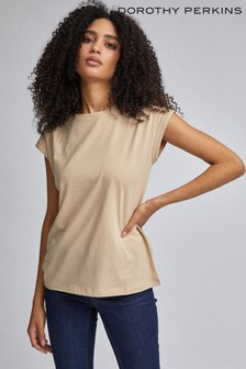 Dorothy Perkins Roll Sleeve T-Shirt