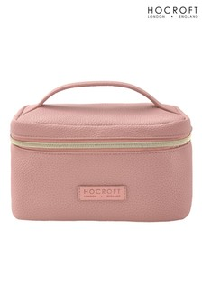 Hocroft London Tattiana Vanity Case Pink Fullgrain