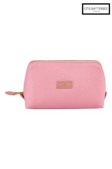 Otis Batterbee Large Downshire Makeup Bag Pink