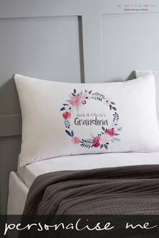 Personalised Grandma Pillowcase by Gift Collective