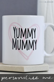 Personalised Yummy Mummy Mug by Koko Blossom