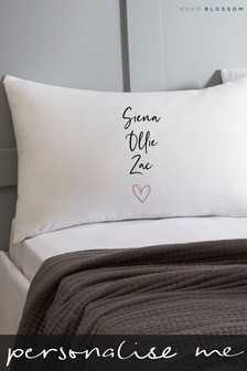Personalised Childrens Names Pillowcase by Koko Blossom