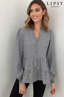 Lipsy Tiered Shirt