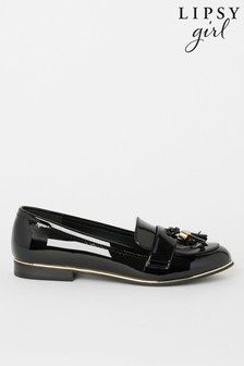 Lipsy Girl Metal Tassel Loafer