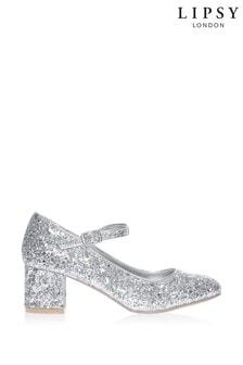 Lipsy Spot On Glitter Court Shoes