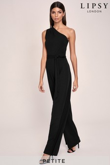 Lipsy Petite One Shoulder Jumpsuit