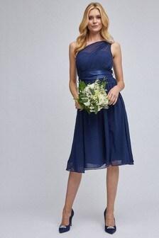 Dorothy Perkins One Shoulder Midi Dress