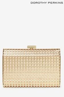 Dorothy Perkins Honeycomb Box Clutch