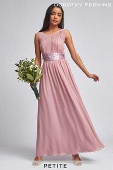 Dorothy Perkins Petite Natalie Chiffon Maxi Dress