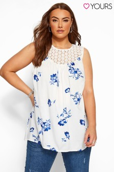 Yours Curve Printed Vest
