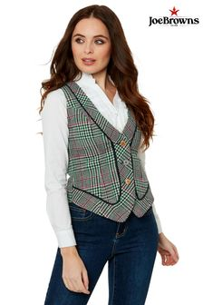 Joe Browns Perfect Check Waistcoat