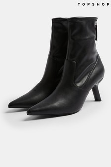 Topshop Memo Point Sock Boots