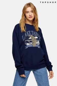 Topshop Lake Tahoe Sweatshirt