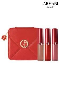 Armani Beauty Lip Maestro Liquid Lipstick – Luxury Christmas Midi Gift Set