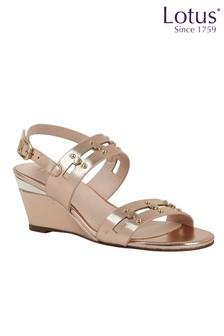 Lotus Footwear Wedge Sandal