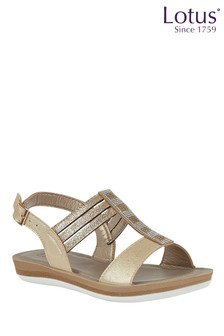 Lotus Sling Back Sandal