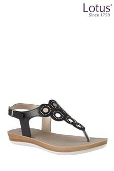 Lotus Toe Post Sandal