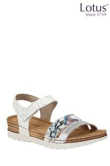 Lotus Velcro Sandals
