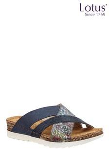 Lotus Mule Sandal