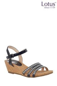 Lotus Footwear Wedge Sandals