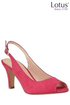 Lotus Slingback Shoes
