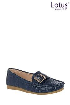 Lotus Footwear Slip-On Loafers