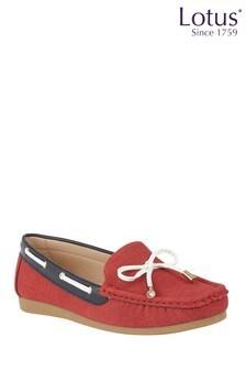Lotus Deck Shoes