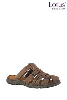Lotus Mule Sandals