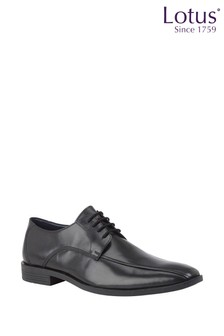 Lotus Leather Lace Up Shoes