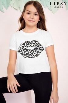 Lipsy Girl Lips T-Shirt