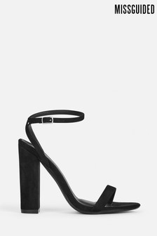 Missguided Entry Block Heeled Sandal