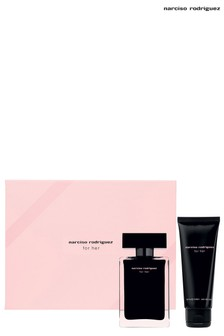 Narciso Rodriguez For Her Eau de Toilette Set Eau de Toilette 50ml, Body Lotion 75ml