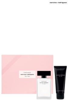 Narciso Rodriguez For Her PURE MUSC Eau de Parfum Set Eau de Parfum 50ml, Body Lotion 75 ml
