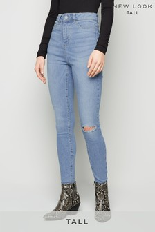 New Look Tall Rip Disco Zeplin Jeans