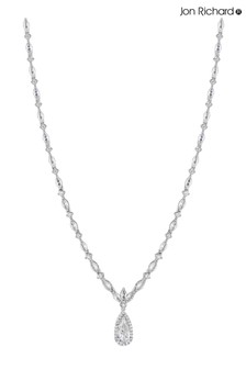 Jon Richard Classic Pear Drop Necklace