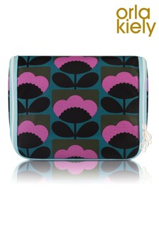 Orla Kiely Floral Bloom Hanging Wash Bag