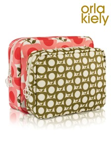 Orla Kiely Apple Double Washbag