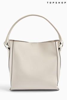 Topshop Stone Strap Handbag