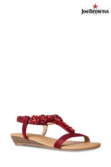 Joe Browns Turning Heads Shimmer Sandals
