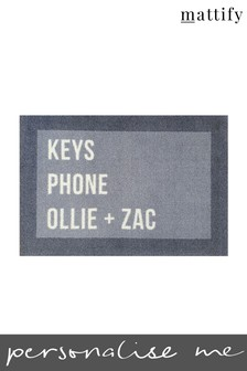 Personalised Remember Doormat by Mattify